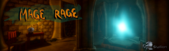 Mage Rage Logo created by Ashleigh Barrett, Team Stallion Logo created by Tylah Heil.