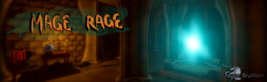 Mage Rage Logo created by Ashleigh Barrett, Team Stallion Logo created by Tylah Heil.